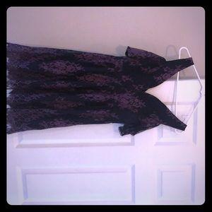 Venus lace cold shoulder dress